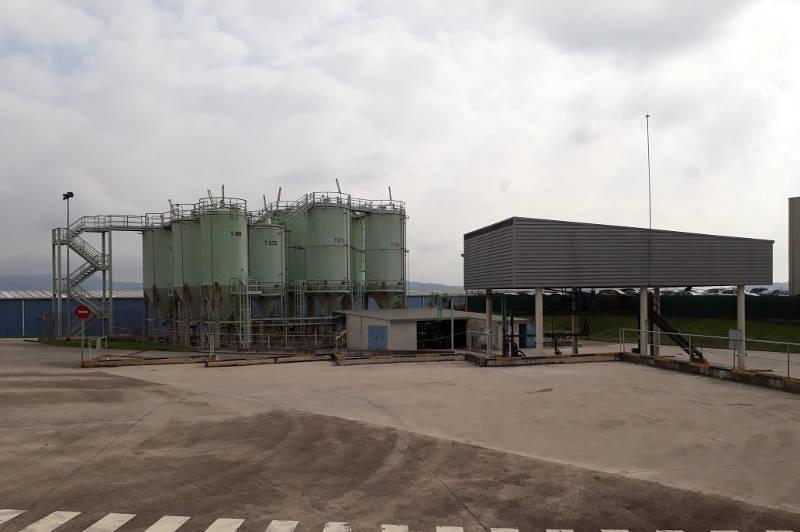 Centro gestion residuos industriales