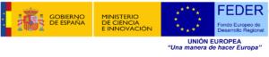 logo gobierno espana ministerio ciencia fondos feder
