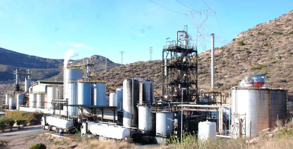 planta gestion residuos sertego cartagena